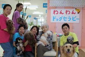 福岡県北九州市小倉北区大畠の住居型有料老人ホームでセラピー活動