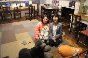 小倉南区市議会議員の、きのした幸子議員と一緒に